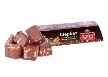 Батончик Шербет з шоколадом та волоськими горіхами #1